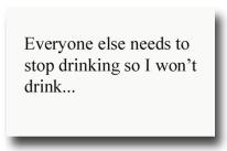 drink copy