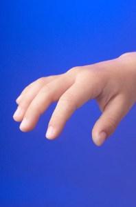 Child's hand 0001